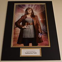 Catherine Tate SIGNED autograph 16x12 photo display Doctor Who AFTAL & COA