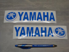 2x stickers pour Yamaha Bleu 19cm moto bikes decals aufkleber pegatinas YAM1-052