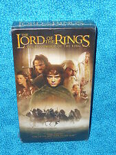 The Lord of the Rings The Fellowship of the Ring VHS 2002 NEW SEALED