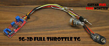 TONE MONSTER SG-2D FULL THROTTLE TG Mid Boost Gain Guitar Effect Circuit Onboard