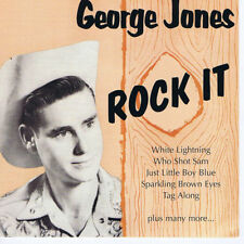 GEORGE JONES Rock It CD 1950s recordings NEW Thumper Jones, Rockabilly Hillbilly