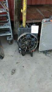 Radiator Fan Motor Fan Assembly With AC Fits 94 SATURN S SERIES 147396
