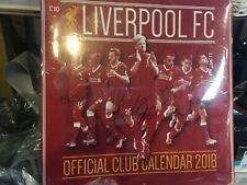 LIVERPOOL FC LFC DESK CALENDAR 2018 a10072