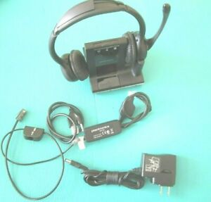 PLANTRONICS SAVI W720 Duo Multi-Device Wireless Headset System 9 hrs talk time