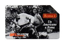 SCHEDA TELEFONICA TELECOM  - UN AMERICANO A ROMA 1954