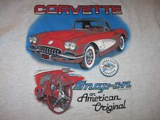 Chevrolet Chevy Corvette Snap-On Tools Vintage T Shirt Mens XL 1993 Classic Cars