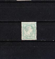 MONACO   prince Charles III   25c  vert   de 1885  num: 6   SG