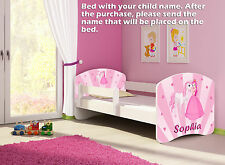 CHILDREN KIDS BED + MATTRESS + FREE DELIVERY TODDLER 60 DESIGNS