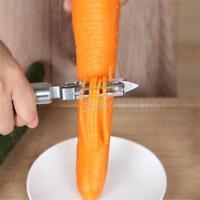 Kitchen Craft Fruit Vegetable Shredder Grater Stainless Steel Peeler Slicer W