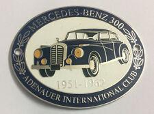 Automobilia Badges & Mascots Car Badge Mervedes Benz-sl-club Pagode Car Grill Badge Emblem Logos Metal Enam