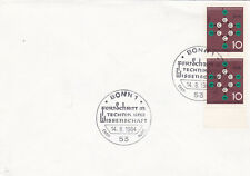 West Germany 1964 Progress in Science and Technology FDC Bonn CDS VGC