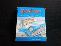 Harry Potter Audio Cassette Books Stephen Fry Chamber of Secrets