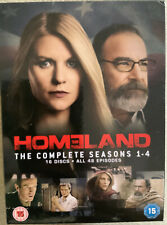 Homeland Season 1 - 4 Box Set. 16 Disc Dvd Set. New.