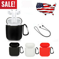 For Apple Airpod Strap Holder & Silicone Case Cover Air Pod Accessories Airpods