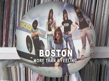 "Boston - More Than A Feeling ULTRA RARE 12"" PICTURE DISC PROMO JAPAN SINGLE LP"