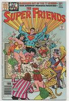 Super Friends 1 DC 1976 VG Superman Batman Wonder Woman Justice League