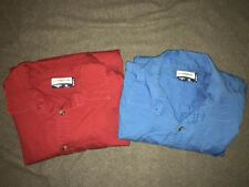 MAGELLAN OUTDOORS- MagShield- CLASSIC FIT- BLUE & RED- SIZE 2XL- LOT OF 2