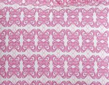 New Pottery Barn Kids PINK Spring BUTTERFLY PILLOWCASE