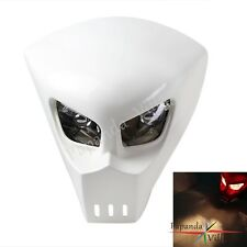 Streetfighter Naked Mask Headlights Head Lamp Motorcycle Motorbike Universal Fit