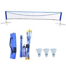 Adjustable Badminton Volleyball Tennis Net Set Height Equipment Kit 16X5 Feet