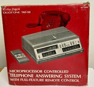 Radio Shack Duofone TAD-150 Telephone Answering System W/Remote Control NIB
