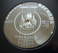 """DERRICK CROSS - You Like Me Don't You / Money - 12"""" Vinyl - 1989 - LOVERS REGGAE"""