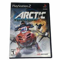 Arctic Thunder (Sony PlayStation 2, 2001) Complete w/Manual CIB