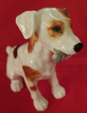 Vintage ROYAL DOULTON Jack Russell Terrier DOG w/Bone Figurine HN 1159 Retired