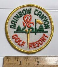 Rainbow Canyon Golf Resort Temecula California CA Souvenir Patch