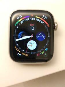 Apple Watch Series 4 GPS Cellular 44mm Silver Stainless Steel Milanese Loop
