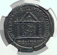 GORDIAN III Nicopolis ad Istrum Ancient Roman Coin SERAPIS TEMPLE NGC i77473