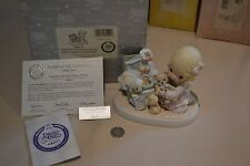 2002 PRECIOUS MOMENTS COLLECTING LIFE'S MOST PRECIOUS MOMENTS FIGURINE 108531