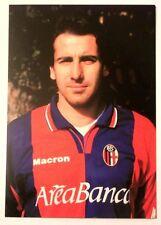 Cartolina Bologna Calcio 2001-02 Lamberto Zauli