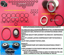 P38 EAS Valve Block O rings-Diaphragm-Piston Ring-Cylinder liner-pump mounts