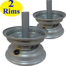 "TWO 6"" RIM WHEEL 6x3.25 3/4"" shaft for 4.10-6 13x5.00-6 14x4.50-6 15x5.00-6 Tire"