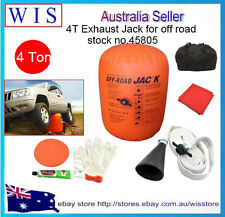 4T Exhaust Jack,Multi Layer 4x4 4WD Off-Road Car Rescue Kit, Lift Air Bag-45805