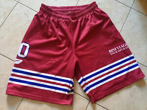 Pantaloncini Short Basket Livorno 3XL Nba Lega Amaranto Reebok Mabo Bini Viaggi