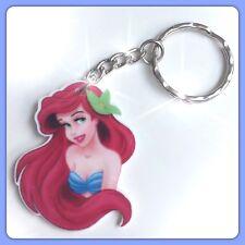 Disney The Little Mermaid Ariel Theme Handmade Keyring Bag Charm  Gift #46