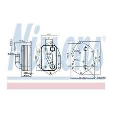 Genuine Nissens Gearbox Oil Cooler - 90808