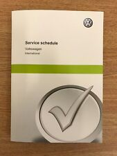 VW VOLKSWAGEN SERVICE BOOK NEW UNUSED GENUINE NOT DUPLICATE GOLF SV PASSAT