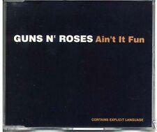 GUNS N' ROSES AIN'T IT FUN + DOWN ON THE FARM + ATTITUDE 1993 CD SINGLE MINT