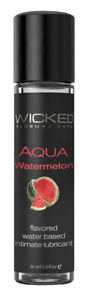 Wicked WATERMELON Cordial ORAL SEX LUBRICANT Light & Silky Lube Blow Job 30ml