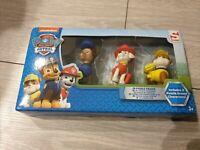 PAW PATROL - Pack of 3 x 3D PUZZLE ERASER Nickelodeon Sambro