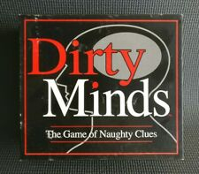 Dirty Minds - Adult Only Party Drinking After Dinner Fun Board Game - Complete