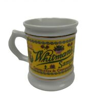 Vintage Whitmans Sampler Coffee Mug Cup Corner Store Porcelain Collection (8oz)