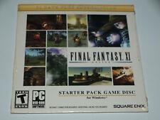 Final Fantasy XI OG Online Starter Pack PC 2011