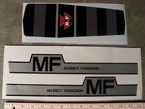 1100 MASSEY FERGUSON Pedal Tractor DECAL SET Ertl Computer Cut MP111 FREE SHIP
