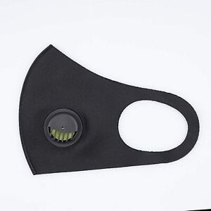 20 Pack Face Mask with Breathing Valve, Skin-friendly Unisex Mouth Mask,
