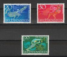 v1287 Liechtenstein/ Sagen   MiNr 475/77 **