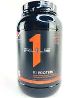Rule One Protein R1 100% Whey Isolate 38 servings STRAWBERRIES & CREME 2.45lbs